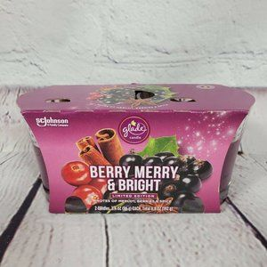 Glider Berry Merry & Bright Candles 3.4 oz 2 Pack